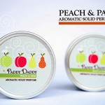 Aromatic Solid Perfume Peach & Pear น้ำหอมแห้ง แพดดี้แดดดี้ กลิ่นพีชแอนด์แพร (กลิ่นหอมสูตรพิเศษของ Paddy daddy)