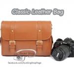 กระเป๋ากล้อง Classic Leather Bag (ขนาดกลาง) (Pre)