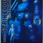 TAKARA Armored Trooper Votoms DMZ-02 DX 1/18 Strike Dog with Ypsilon NEW