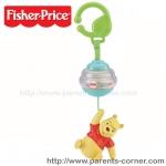 ของเล่นติดรถเข็น Fisher price- winnie the pooh
