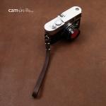 สายคล้องข้อมือกล้อง Camera Wrist Strap กล้อง Mirrorless / Leica รุ่น Simple Dark Brown สีน้ำตาลเข้ม