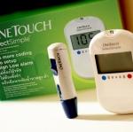 เตรื่องวัดน้ำตาล One Touch Select Simple 1 เครื่อง