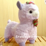 ตุ๊กตา อัลปาก้า Alpaca คริสมาสต์ สีม่วง ขนาดสูง 18 นิ้ว