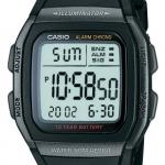 นาฬิกา คาสิโอ Casio 10 YEAR BATTERY รุ่น W-96H-1B ของแท้ รับประกัน 1 ปี