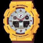 นาฬิกา คาสิโอ Casio G-Shock Limited model Color series รุ่น GA-100CS-9A [mcDonald] (มิ้นต์ ชาลิดาใส่ ละครสองหัวใจนี้เพื่อเธอ)