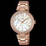 นาฬิกา คาสิโอ Casio SHEEN MULTI-HAND รุ่น SHE-3043PG-7A ของแท้ รับประกัน1ปี