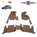 พรมเข้ารูป 6 D Leather Car Mat จำนวน 3 ชิ้น MERCEDES BENZ C CLASS W204
