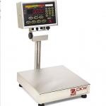 เครื่องชั่งสำหรับตรวจสอบน้ำหนัก Check weight Scale รุ่น CKW30L55 ยี่ห้อ Ohaus พิกัด 30 กิโลกรัม ละเอียด 5 กรัม จานชั่งขนาด 25.4x25.4 ซม. NEMA 4X/IP66, LoadCell IP67