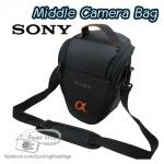 กระเป๋ากล้อง Sony รุ่น Middle Sony สำหรับ A230 A330 A350 A550 A700 A55 A900 ฯลฯ