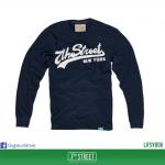เสื้อยืดแขนยาว 7TH STREET - รุ่น 7th Street | Navy Blue