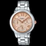 นาฬิกา คาสิโอ Casio SHEEN MULTI-HAND SHE-3059 series รุ่น SHE-3059D-9A ของแท้ รับประกัน1ปี