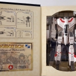 Toynami Macross Robotech Masterpiece Vol.1 VF-1J Rick Hunter 1/55 Scale New