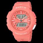 นาฬิกา Casio Baby-G BGA-240BC Bold Color series รุ่น BGA-240BC-4A (สีแซลม่อน salmon) ของแท้ รับประกัน1ปี