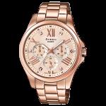 นาฬิกา คาสิโอ Casio SHEEN MULTI-HAND รุ่น SHE-3806PG-9A ของแท้ รับประกัน1ปี