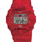 """นาฬิกา Casio G-Shock Limited Vintage Flower Pattern series รุ่น GLX-5600F-4 """"แดงฮาวาย"""" ของแท้ รับประกัน1ปี"""
