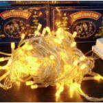 ไฟประดับ 100 หัว สีเหลือง