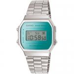 นาฬิกา คาสิโอ Casio STANDARD DIGITAL Vintage รุ่น A168WEM-2 ของแท้ รับประกัน 1 ปี