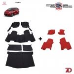 พรมรถยนต์ 7 D Anti Dust รถ HONDA JAZZ (GE) 2008-2013