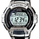 นาฬิกา คาสิโอ Casio SOLAR POWERED รุ่น W-S220D-1A