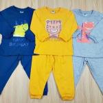 ชุดนอนเด็กสกรีนลาย (แพค 3 ชุด)