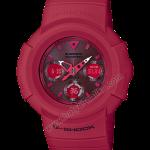 นาฬิกา Casio G-Shock 35th Anniversary Limited RED OUT 3rd series รุ่น AWG-M535C-4AJR (ไม่วางขายในไทย นำเข้า Japan) ของแท้ รับประกัน1ปี