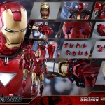 Hot Toys MMS378 D17 Iron Man Mark V The Avengers 1/6 Scale Standard Edition Diecast NEW