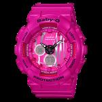นาฬิกา Casio Baby-G Scratched Pattern series รุ่น BA-120SP-4A ของแท้ รับประกัน1ปี