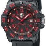 นาฬิกา Luminox รุ่น LUMINOX 3065 Evo Navy Seal Dive Watch Colormark (red)