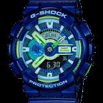 นาฬิกา Casio G-Shock Limited Multi-Color series Crazy Color 2016 รุ่น GA-110MC-2A (สี Blue Sapphire Marine) ของแท้ รับประกัน1ปี
