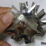 เหล็กตัดเฟรนช์ปลายขาว แบบที่ 2 สำหรับทำเล็บอะคริลิคปลายขาว EASY FRENCH POLY TIPS