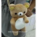 กระเป๋าสะพายข้าง ลายหมี ริลัคคุมะ Rilakkuma แบบตัวหมีใหม่ล่าสุด