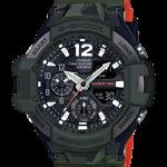 นาฬิกา Casio G-Shock นักบิน GRAVITYMASTER Master in OLIVE DRAB ทูโทน-ลายพราง series รุ่น GA-1100SC-3A (ลายพรางเขียวทหาร) ของแท้ รับประกัน1ปี