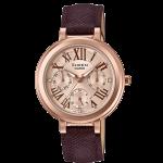 นาฬิกา คาสิโอ Casio SHEEN BROWN COLOR SERIES รุ่น SHE-3034GL-7A2 ของแท้ รับประกัน1ปี