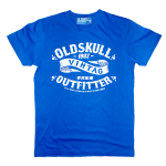 เสื้อยืด OLDSKULL: Ultimate #500 | สีน้ำเงิน