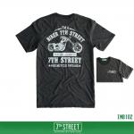 เสื้อยืด 7TH STREET - รุ่น I'm a Biker | Top dry Black