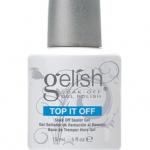 Top It Off - Soak-Off Sealer Gel สีเคลือบใส สีเจล Harmony