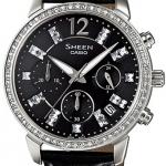 นาฬิกา คาสิโอ Casio SHEEN CHRONOGRAPH รุ่น SHE-5025BL-1A