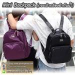 กระเป๋ากล้องเป้สะพายหลัง ผ้ากันน้ำ รุ่น Mini Camera Backpack