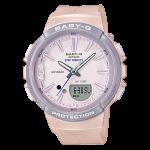 นาฬิกา Casio Baby-G for Running รุ่น BGS-100SC-4A (สีชมพู-ม่วง) ของแท้ รับประกัน1ปี