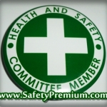เข็มกลัด Health and Safety Committee Member