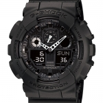 นาฬิกา คาสิโอ Casio G-Shock Standard Analog-Digital Three-Eye Dial รุ่น GA-100-1A1DR (DARK KNIGHT)