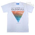เสื้อยืด OLDSKULL : EXPRESS HD #36 | ขาว