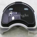 เครื่องอบเจล LED ยี่ห้อ Moonlight 60 วัตถ์ เครื่องสีดำ ไฟแรงสูง