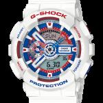 """นาฬิกา Casio G-Shock Limited White Tricolor series รุ่น GA-110TR-7A """"กันดั้ม"""" ของแท้ รับประกัน1ปี"""