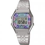 นาฬิกา Casio STANDARD DIGITAL LA680 Floral Dial series รุ่น LA680WA-2C ของแท้ รับประกัน 1 ปี