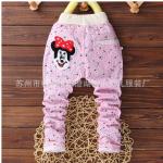 กางเกงขายาวมินนี่สีชมพู (1-5 ปี)