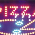 ป้ายไฟ LED PIZZA 48x25 cm. คุณภาพเกรด A