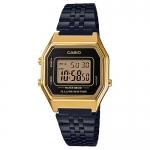 นาฬิกา คาสิโอ Casio STANDARD DIGITAL Vintage Black&Gold รุ่น LA680WEGB-1A (ไม่มีขายในไทย) ของแท้ รับประกัน 1 ปี