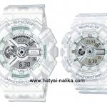 นาฬิกา คาสิโอ Casio G-Shock x Baby-G เซ็ตคู่รัก Tribal Pattern รุ่น GA-110TP-7A x BA-110TP-7A Pair set ของแท้ รับประกัน 1 ปี