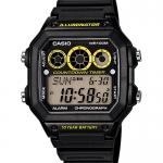 นาฬิกา คาสิโอ Casio 10 YEAR BATTERY รุ่น AE-1300WH-1AV